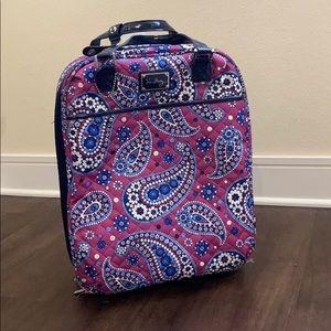 HP✨ Vera Bradley Rolling Luggage